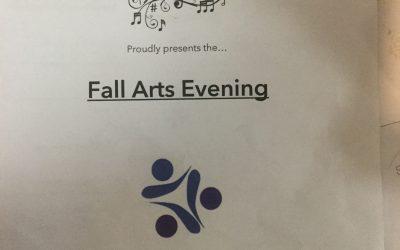 Fall Arts Evening – Nov 21 @ 6:30 – Gym