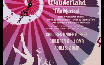 Get your tickets for Alice@Wonderland!