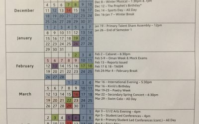 It's a busy 3 months for the Performing Arts…