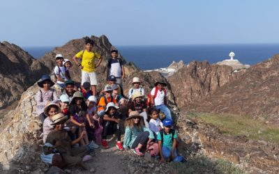 Grade 4 goes to the Mosque, the Souq and an epic hike