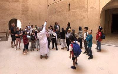 Oman Week Day Three with Grade Five