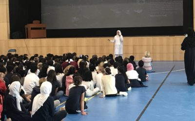 Health and Hygiene assembly at ABIS
