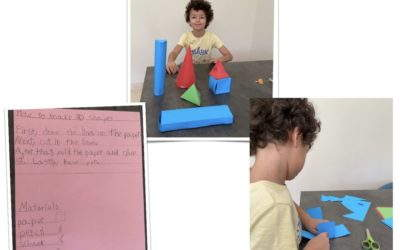 Wow, here is Marcelo's procedural writing of how to make 3D shapes. Who would like to try this?