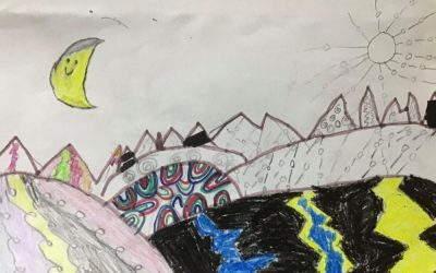 Art: creating landscapes