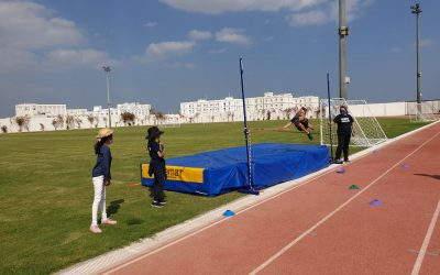 High jumping in grade 5