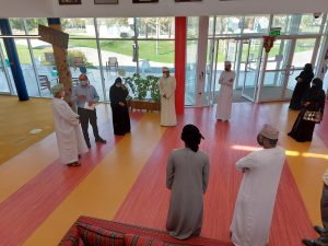Oman week, exams, reports and a farewell.