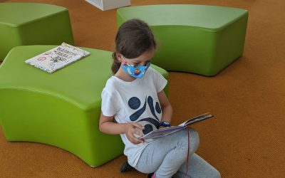 Library Times- Book Clubs, Bravery and Backpacks