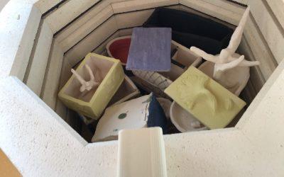 Firing up the kiln!