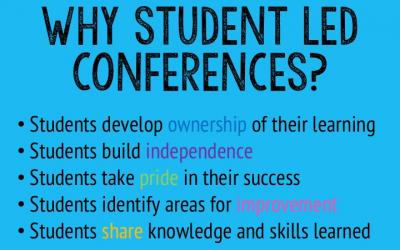 Student Led Conferences – A celebration of success