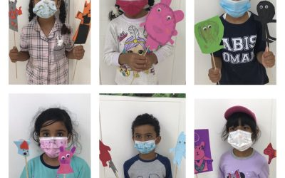 K3  created puppets