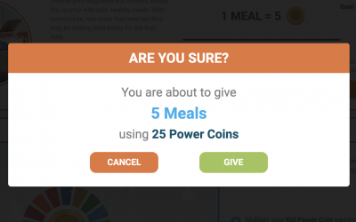 UNICEF food donations, probability, averages and Ecosystem art